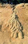 Osobliwe osuwisko piasku