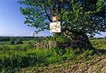 Pomnik przyrody nieożywionej - głaz za miejscowością Szozdy