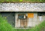 Bunkier na materiały wybuchowe w dawnym kamieniołomie Żelebsko - zdjęcie archiwalne