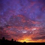 Jeden z najwspanialszych zachodów słońca jakie widzieliśmy na Roztoczu - użyliśmy tego zdjęcia na tło strony
