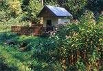 Kapliczka nad źródełkiem - na północ od Łówczy