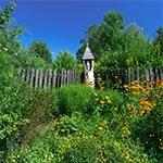 Kapliczka w miejscowości Majdan Skierbieszowski