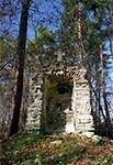 Stara kapliczka koło Polanki Horynieckiej