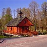 Kaplica we wsi Wywłoczka