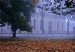 Katedra Zamojska we mgle
