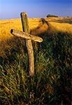 Przydrożny krzyż w okolicy wsi Hutków
