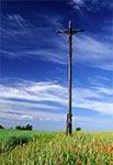 Krzyż na Chełmowej Górze koło Krasnobrodu