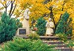 Objawienia się Matki Boskiej Jakubowi Ruszczykowi - koło Kransobrodu, przy kaplicy na źródle