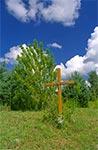 Przydrożny krzyż w Szewni Górnej