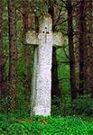 Krzyż z roku 1830 w Hucie Lubyckiej