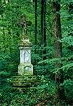Krzyż w nieistniejącym przysiółku Kołosowckie z roku 1891 roku - stan przed odnowieniem