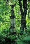 Krzyż z roku 1901 w nieistniejącym przysiółku Chotylubia - Kołosowskie