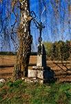 Przy stodole w Chmielach
