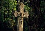 Krzyż z roku 1860 w nieistniejącej wsi Dahany