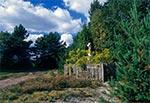 Krzyż z roku 1935 w przysiółku Jacków Ogród