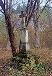 Krzyż zroku 1912 - nieistniejaca wieś Grochy koło Płazowa