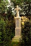Krzyż z roku 1884 w Hucie Złomy