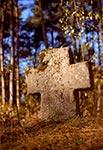 Krzyż mogilny z czasów najazdów tatarskich nieopodal Podemszczyzny