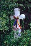 Krzyż z roku 1887 w Złomach Ruskich