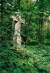 Krzyż z roku 1880 w rejonie Wielkiego Dzialu