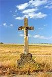 Krzyż z roku 1878 w nieistniejącym przysiółku Bogusze tuż koło Werchraty
