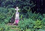 Krzyż przy drodze na Mrzygłody