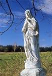 Figura Matki Bożej w nieistniejącej wsi Bohusze przy Werchracie. Nie ma jej tam od paru lat, a ostatnio dowiedziałem się od Straży Granicznej, że podobno zabrano ją do muzeum w Lubaczowie