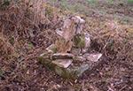 Przydrożny krzyż na Kozubalach, koło Werchraty