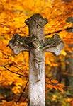 Na cmentarzu w Starej Hucie