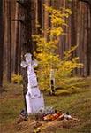 Na cmentarzu w Teniatyskach