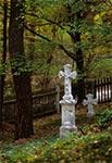 Nowszy cmentarz w Kniaziach