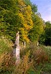 Przygraniczny cmentarz pod Mycowem