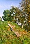 Cmentarz z nagrobkami bruśnieńskimi w Chłopiatyniu