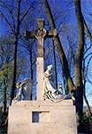 Na cmentarzu w Wierzbicy