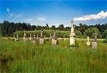 Cmentarz w Łosińcu po odnowieniu