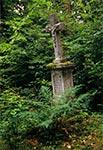 Nagrobek na cmentarzu w Starej Hucie