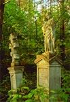 Na cmentarzu w Bruśnie Starym