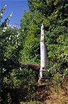 Cokół pomnika anioła - Roztocze Zachodnie