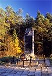 Pomnik upamiętniający poległych żołnierzy AK w bitwie pod Lasowcami 4 lutego 1943 r.