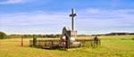 Pomnik ku pamięci 62 mieszkańców wsi Rudka, zamordowanych przez UPA