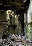 """Wewnątrz bunkra """"linii Mołotowa"""" w rejonie Brusna"""