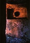 Wejście do bunkra na Hrebciance