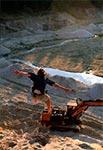 Tu gdzie dziś w Józefowie są kąpielowe zalewy, kiedyś była kopalnia piasku - miejsce jak widać dobre do krótkich lotów ;)