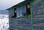W okolicy Dahan stał onegdaj taki oto barak - wyprawa z Mariuszem Szyszką