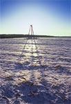 Triangul na wierzchowinie, na południe od wsi Obrocz