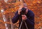 Tomek Michalski w akcji - plener towarzyski w rezerwacie Las Bukowy koło Narola