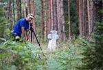 W dolinie Brusienki w okolicy Brusna - towarzyski plener w Tomkiem Michalskim, który zrobił to zdjęcie
