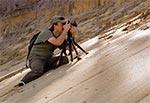 Plener w piaskowni Górniki - na zdjęciu Marek