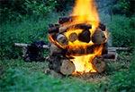Potężne ognisko daje potężną ilość ciepła