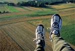 Machanie nogami 50m nad ziemią